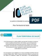 Plan de Salud Territorial 2012 - 2021 2