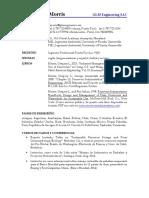 Morris Resume Dec2014 Proyectos Espanol.pdf