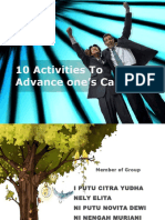 Prof Dev 10 Activities to Advance One's Career