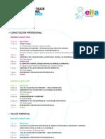 """""""PRIMER SEMINARIO-TALLER INTERNACIONAL SOBRE SÍNDROME DE ASPERGER Y AUTISMO"""" - Agenda Eita"""