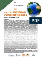 DESAFÍOS  DE LA SOCIEDAD  CONTEMPORÁNEA