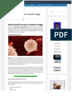Obat Herbal Penurun Leukosit Tinggi | OBAT HERBAL POLIP