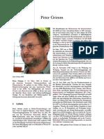 Peter Grimm - IFM und grenzfall