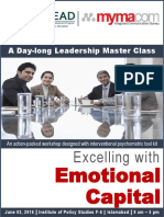 Master Class on 'Excelling with Emotional Capital'