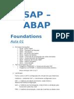 ABAP Básico - Aula 01