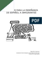 Recursos para la enseñanza de español a inmigrantes