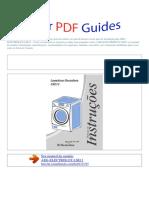 Manual Do Usuário Aeg Electrolux Lse11 p