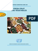 Fresh Fruit and Vegetables Vol1