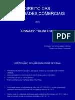 Direito Das Sociedades 2015 (Novo Programa)