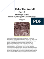 Who Rules the World Part 1 the Origin of Evil by Philip Jones