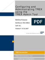 Configuring and Administrating TREX