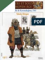 Osprey - Delprado - Chevaliers Et Soldats Du Moyen Age - 008 - La Bataille de Kawanakajima 1561