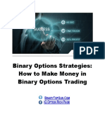 Binary Options Strategies How Make Money in Binary Options Trading