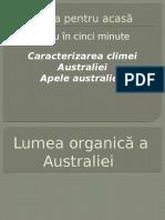 Lumea Organică a Australiei