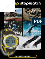 Freelap Stopwatch User Guide