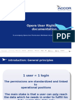Opera Userrights Documentation V1.5
