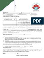Swim Boca Registration Form