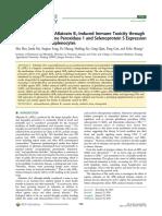 Selenium Alleviates Aflatoxin B1‑Induced Immune Toxicity
