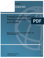 Ending Extreme Poverty and Sharing Prosperity (World Bank)