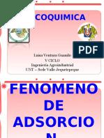 Fenomenos de Adsorcion- Ventura Guanilo