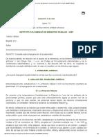 CONCEPTO 72 de 2015 ICBF Consulta Impugnacion de La Paternidad