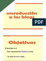 Presentacion Blogs