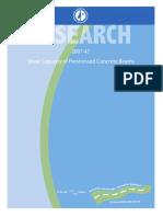 Shear Capacity of PSC Beam (Report 2007)