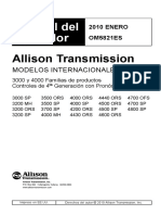 CAJA ALLISON Manual Operacion Serie 3000-4000