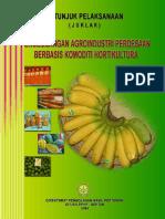 Buku Juklak Hortikultura
