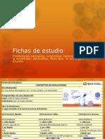 Fichas de Estudio Disoluciones