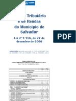 Código Tributário Municipal.