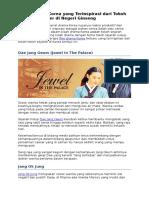 Kisah Drama Korea Yang Terinspirasi Dari Tokoh Sejarah Populer Di Negeri Ginseng