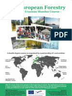 MSc of European Forestry Poster