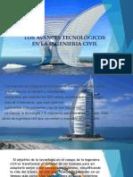 Los Avances Tecnologicos en La Ingenieria Civil
