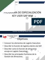 Programa de Especialización Key User Sap Wm