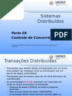 SD08 - Controle de Concorrência.ppt
