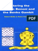 Mastering the Modern Benoni and the Benko Gambit