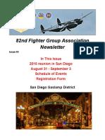 82nd FGA Newsletter June 2016