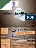 Mapa Conceptual Influencia de Grupo