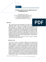 5 APREDA - La relacion del sujeto con el objeto de las neurociencias.pdf