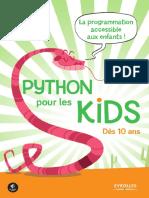 Python Pour Les Kids Eyrolles