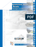 Expansion Joints & Seals Brochure - Issue 02