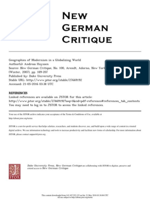 27669192 pdf | Modernism | Colonialism