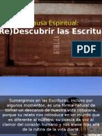 Pausas Espirituales 11 - Redescubrir Las Escrituras