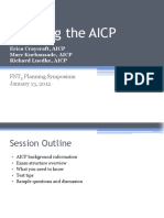 Cracking the AICP 2011.12.16