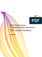 Performance Troubleshooting -PS - PDP Context Activation v0.1