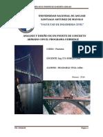 Analisis y Diseño de Un Puente de Concreto Armado Con El Programa Csibridge.