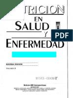 Nutricion en Salud y Enfermedad Vol II