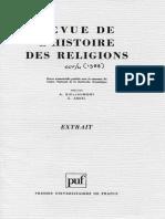 MEEKS, D. Notion de Dieu Et Structure Du Pantheon