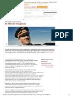 Forschung Über Alternativgeschichte_ Als Hitler Den Krieg Gewann - SPIEGEL ONLINE